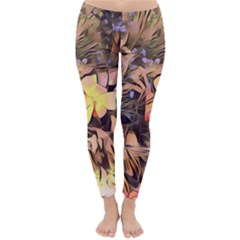 Spring Flowers Classic Winter Leggings