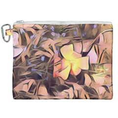 Spring Flowers Canvas Cosmetic Bag (xxl)