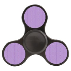 Mod Twist Stripes Purple And White Finger Spinner by BrightVibesDesign