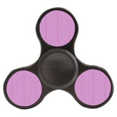 Mod Twist Stripes Pink And White Finger Spinner by BrightVibesDesign