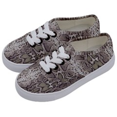 Snake Skin Kids  Classic Low Top Sneakers by LoolyElzayat