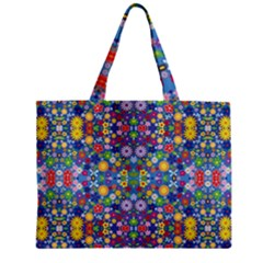 Colorful Flowers Mini Tote Bag