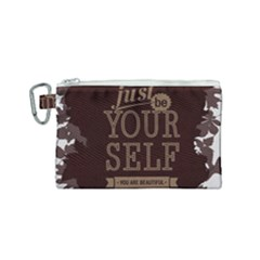 Encourage Motivation Tackle Things Canvas Cosmetic Bag (small)