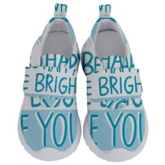 Motivation Positive Inspirational Velcro Strap Shoes by Sapixe