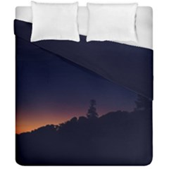 Nature Night Colorful Landscape Duvet Cover Double Side (california King Size)