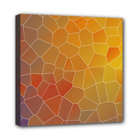 Colors Modern Contemporary Graphic Mini Canvas 8  X 8  by Sapixe