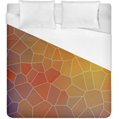 Colors Modern Contemporary Graphic Duvet Cover (king Size)
