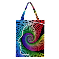 Head Spiral Self Confidence Classic Tote Bag by Sapixe