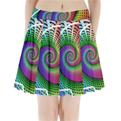 Head Spiral Self Confidence Pleated Mini Skirt