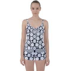 Gears Tree Structure Networks Tie Front Two Piece Tankini