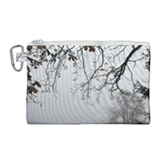 Tree Nature Landscape Canvas Cosmetic Bag (large)