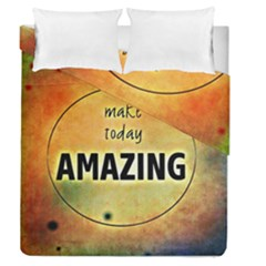 Beautiful Day Cheerful Munter Duvet Cover Double Side (queen Size) by Sapixe