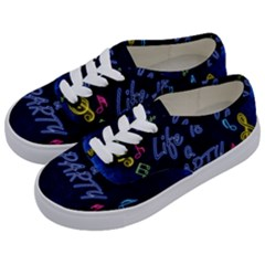 Beautiful Things Encourage Kids  Classic Low Top Sneakers by Sapixe