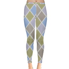 Background Paper Texture Motive Inside Out Leggings