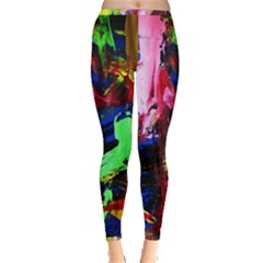 Global Warming 3 Inside Out Leggings by bestdesignintheworld