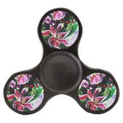 Lilac And Lillies 3 Finger Spinner by bestdesignintheworld