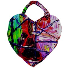 Depression 6 Giant Heart Shaped Tote
