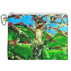 Coral Tree 2 Canvas Cosmetic Bag (xxl) by bestdesignintheworld