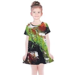 Collosium   Swards And Helmets 3 Kids  Simple Cotton Dress