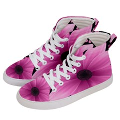 Flower Plant Floral Petal Nature Women s Hi Top Skate Sneakers by Sapixe
