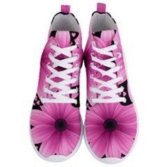 Flower Plant Floral Petal Nature Men s Lightweight High Top Sneakers