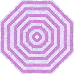 Stripes2white Marble & Purple Colored Pencil Golf Umbrellas by trendistuff