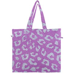 Skin5 White Marble & Purple Colored Pencil (r) Canvas Travel Bag by trendistuff