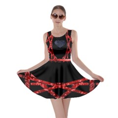 Ghost Gear   Shattered Heart   Skater Dress by GhostGear