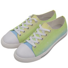 Pastelrainbowgalaxy Women s Low Top Canvas Sneakers by RingoHanasaki