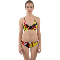 Cry About My Haircut 8 Wrap Around Bikini Set
