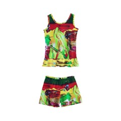 Farewell On The Shore 1 Kid s Boyleg Swimsuit