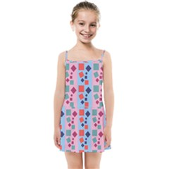 Background Desktop Squares Kids Summer Sun Dress