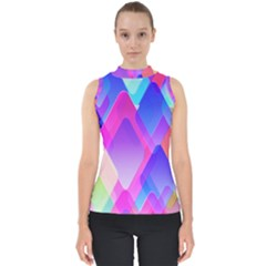 Squares Color Squares Background Shell Top