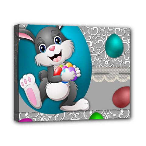 Illustration Celebration Easter Canvas 10  X 8  by Sapixe