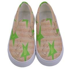 Background Desktop Beige Kids  Canvas Slip Ons