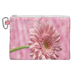 Background Texture Flower Petals Canvas Cosmetic Bag (xl)