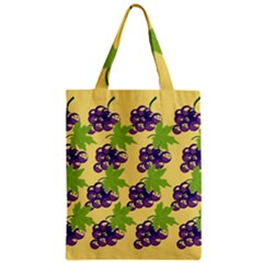Grapes Background Sheet Leaves Classic Tote Bag by Sapixe