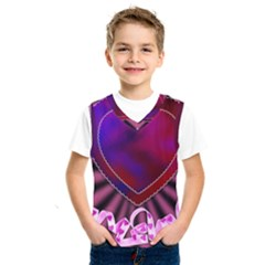 Background Texture Reason Heart Kids  Sportswear