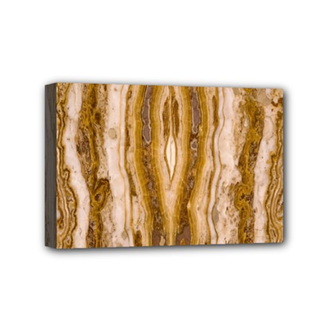 Marble Wall Surface Pattern Mini Canvas 6  X 4  by Sapixe