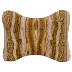 Marble Wall Surface Pattern Velour Seat Head Rest Cushion