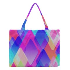 Squares Color Squares Background Medium Tote Bag