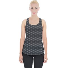 Geometric Pattern Dark Piece Up Tank Top