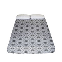 Geometric Pattern Light Fitted Sheet (full/ Double Size) by jumpercat