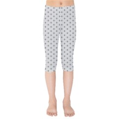 Geometric Pattern Light Kids  Capri Leggings  by jumpercat