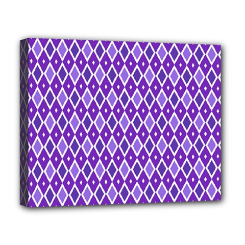 Jess Violet Deluxe Canvas 20  X 16