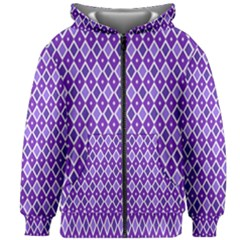 Jess Violet Kids Zipper Hoodie Without Drawstring