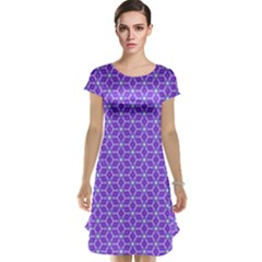 Lavender Tiles Cap Sleeve Nightdress by jumpercat
