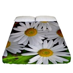 Flowers Flower Background Design Fitted Sheet (queen Size)
