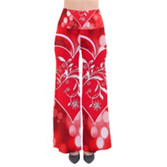 Love Romantic Greeting Celebration So Vintage Palazzo Pants by Sapixe