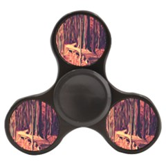 Forest Autumn Trees Trail Road Finger Spinner by Sapixe